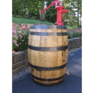 Pitcher Pump Rain Barrel