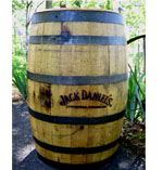 Raw Jack Daniel's Branded Barrel